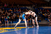 SWEDE WRESTLING vs kwu